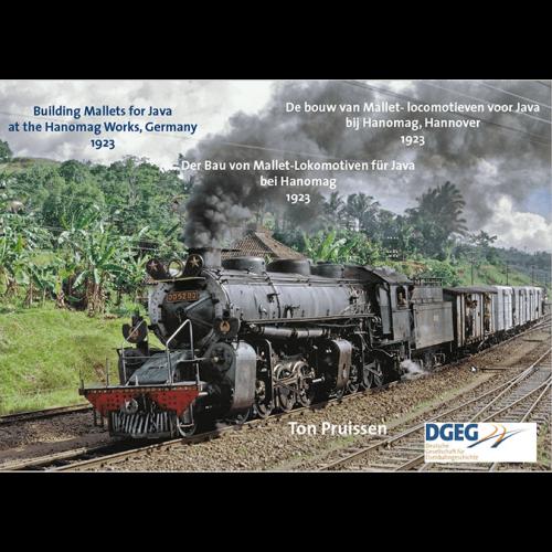 De bouw van Mallet - locomotieven voor Java