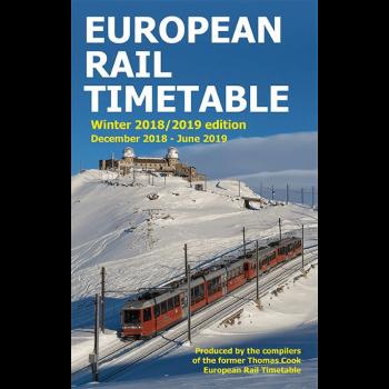 Europees Spoorboekje Winter 2018/2019