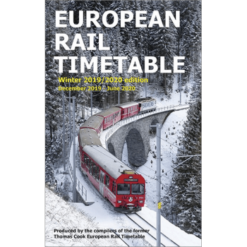 European Rail Timetable Winter 2019/2020