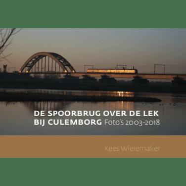 De spoorbrug over de Lek bij Culemborg