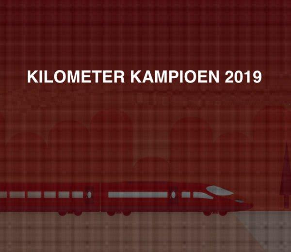 Kilometer kampioen 2019