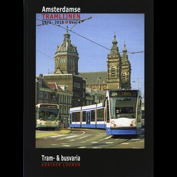Amsterdamse Tramlijnen 1975 - 2018
