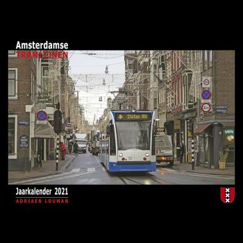 Kalender Amsterdamse tramlijnen 2021