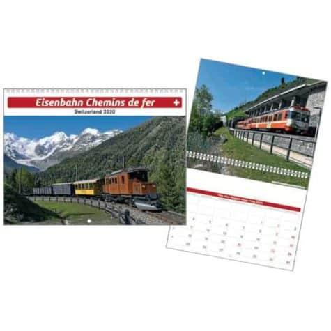 Eisenbahn – Chemins de fer – Switzerland 2020