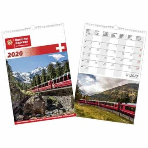 Kalender Bernina Express – 2020
