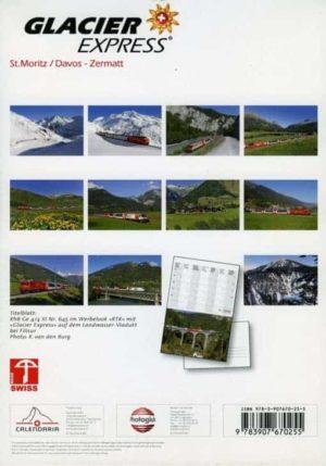 Kalender Glacier Express – 2019