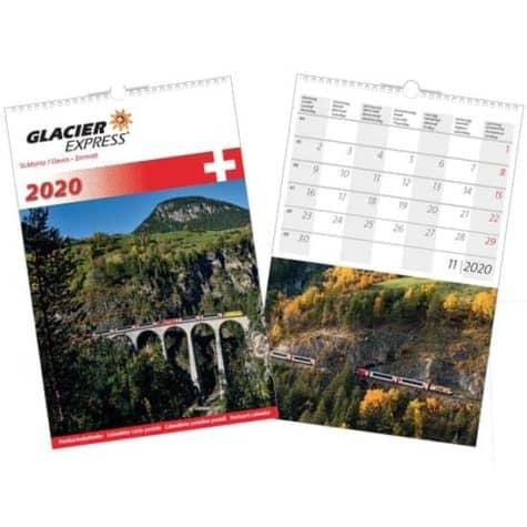 Kalender Glacier Express – 2020