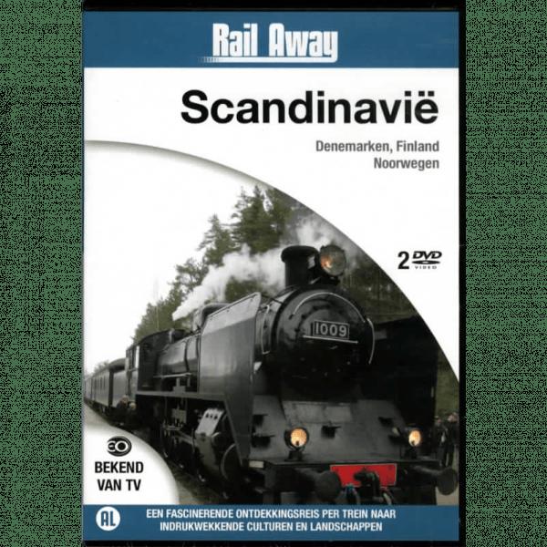 Naar de mooiste spoorlijnen van Scandinavië
