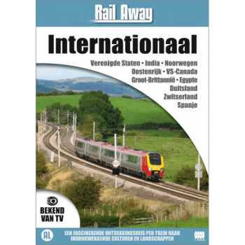 Rail Away Internationaal (4 DVD)