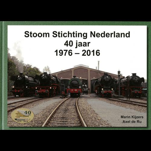 SSN 40 jaar 1976 – 2016 (Boek)
