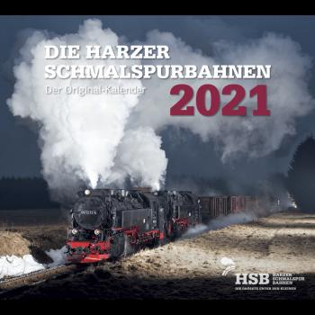 Die Harzer Schmalspurbahnen Kalender 2021