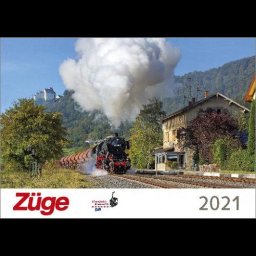Züge-Kalender 2021