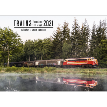 Kalender TRAINS - Frow dawn till dusk - 2021