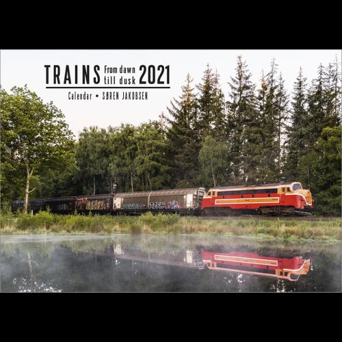 Kalender TRAINS - Frow dawn till dusk - 2021