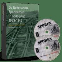 """De Nederlandse Spoorwegen in oorlogstijd 1939-1945 + dubbel DVD """"Sporen naar het Front"""""""